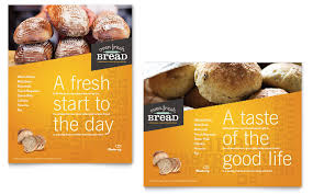 artisan bakery poster template word u0026 publisher