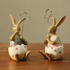 online buy wholesale handicraft item from china handicraft item handicrafts for clip notes of resin decoration of couple rabbit for home decor best gift for