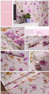 luxury chinese classic flowers birds wallpaper romantic country