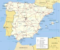 Map Of Seville Spain by Map Of Spain