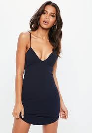 bodycon dress slip dresses shop cami dresses missguided