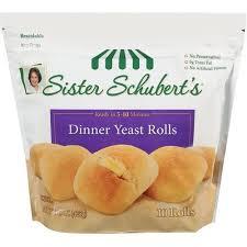 schuberts dinner yeast rolls 15 oz walmart