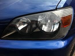 lexus plymouth uk lexus is200 black satin headlights and foglights buy u0026 sell