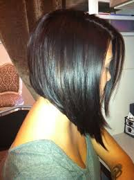 angled bob hairstyle pictures sleek angled bob back google search pinteres