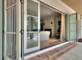 Accordion Glass Patio Doors Cost Glass Folding Doors Exterior Four Indoor Doors Folding Glass