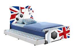 union jack football bed u2013 visco therapy