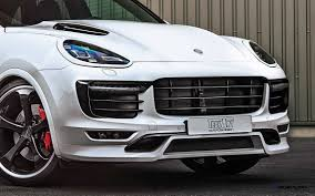 porsche suv turbo techart porsche cayenne turbo powerkit