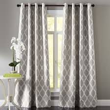 gray patterned curtains curtains gallery