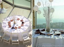 Wedding Table Set Up Photos In Cancun Beach Palace Wedding Packages