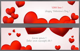 happy valentines day banner day banners free free vector 11 688 free
