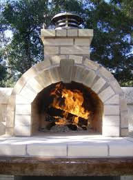 Fire Pit Pizza - outdoor fireplace and pizza oven spaces traditional with outdoor