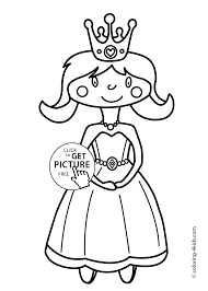 cute princesse coloring pages for girls printable coloring pages