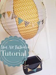 hot air balloon centerpiece hot air balloon decoration tutorial the style