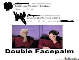Double Facepalm Meme - double facepalm by datcoolbean meme center