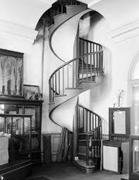 nice and appealing wrought iron spiral staircase file spiral staircase in the presbytere new orleans 1934 jpg