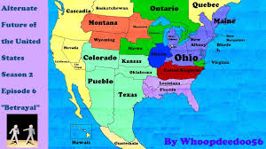 Future Maps Of The United States by Alternate Future Of The United States S2e6