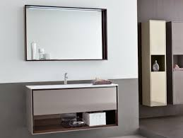 Large Mirrored Bathroom Cabinets by Bathroom Ideas Large Bathroom Mirror With Shelf Above Double Sink