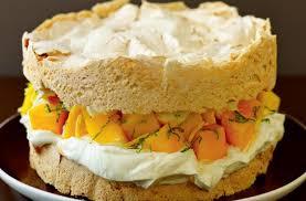 lorraine cuisine lorraine pascale s meringue sponge with mango and lime