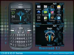 themes mobile android honeycomb style theme for c3 00 asha 200 x2 01 asha 200 themes