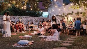 intimate backyard wedding of rara and ben courtesy of andika