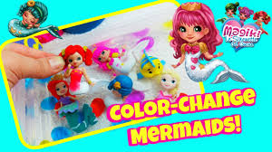 new color change mermaids magiki mermaids change color disney