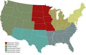 Map Of Midwest States by To Every Californian Who Refers To The Midwest As