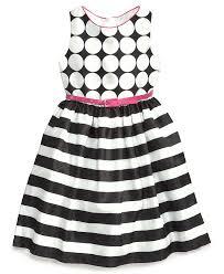 bonnie jean girls u0027 belted spots to stripes dress kids dresses