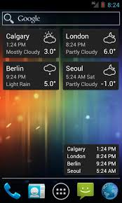 clock and weather widgets for android world clock weather widget android apps on play
