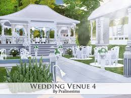 wedding arches in sims 4 wedding venue 3 by pralinesims at tsr sims 4 updates the sims