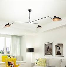 Serge Mouille Three Arm Ceiling Lamp Knock Off by Online Buy Wholesale Serge Mouille From China Serge Mouille