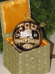 jersey ornament tcu set of 6 prodotti di bellezza ornamenti