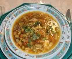 cuisine dietetique soupe thaïlandaise diététique express recette de soupe