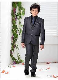 kids heavy tr fabric gray blazer u0026 suits for boys kxsy077001acp