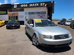 2004 audi a4 1 8 t quattro for sale 2004 audi a4 1 8t avant quattro in wailuku hi ohana auto sales