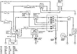 honda goldwing gl1500 starting system circuit
