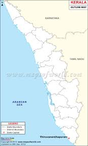 India Map Blank With States by Outline Map