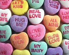heart shaped candy s special candy heart sayings julie author