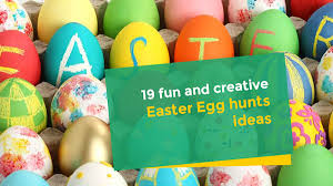 easter egg hunt ideas 19 fun and creative easter egg hunts ideas