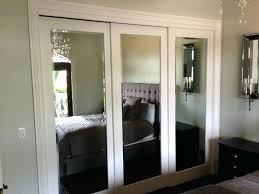 Mirrored Sliding Doors Closet Sliding Doors For Bedroom Entrance Large Size Of Mirrored Sliding