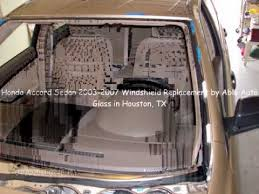 honda accord front windshield replacement honda accord sedan 2003 2007 windshield replacement