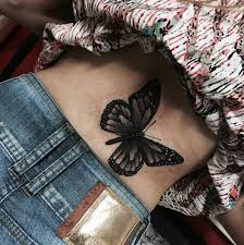 221 besten butterfly tattoos bilder auf pinterest girly tattoos