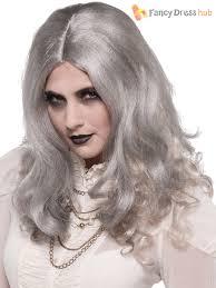 ladies gothic zombie ghost halloween fancy dress costume womens