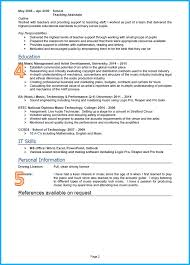 Sample Resume For A Driver Example Of A Good Cv