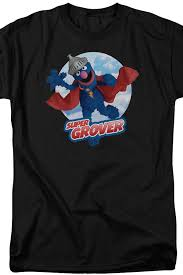 super grover sesame street shirt sesame street mens shirt