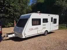 5 Berth Caravan With Awning 5 Berth Caravans For Sale Caravansforsale Co Uk