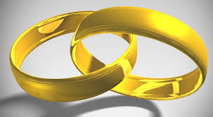 intertwined wedding rings photoshop tutorial how to make 3d interlocking gold rings