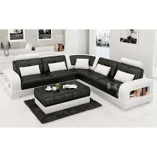 canapé en cuir d angle canapé d angle cuir design royal sofa idée de canapé et meuble