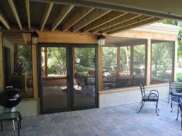 How To Close In A Covered Patio Creative Design Screened Patios Stunning How To Choose Between A