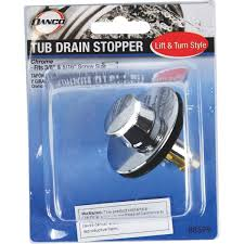 Replacing Bathtub Drain Stopper Danco Replacement Tub Drain Stopper Cartridge 88599 Do It Best