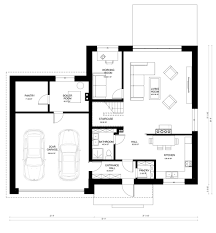 Contemporary Style House Plan 3 Beds 2 00 Baths 2650 Sq Ft Plan